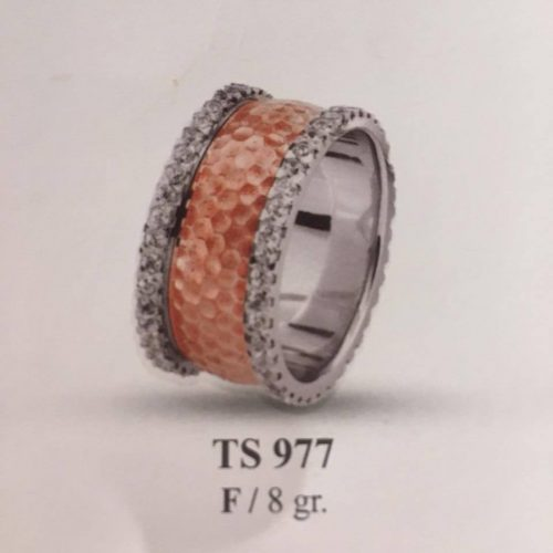 ARANY Bicolor Kísérőgyűrű – TS977