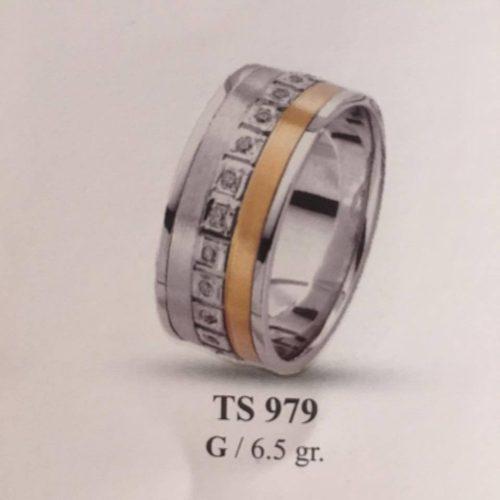 ARANY Bicolor Kísérőgyűrű – TS979