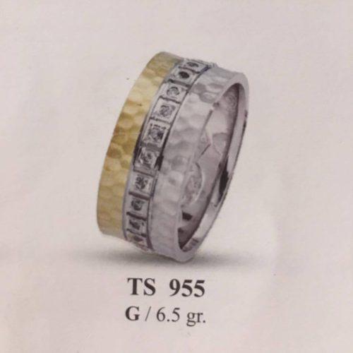 ARANY Bicolor Kísérőgyűrű – TS955