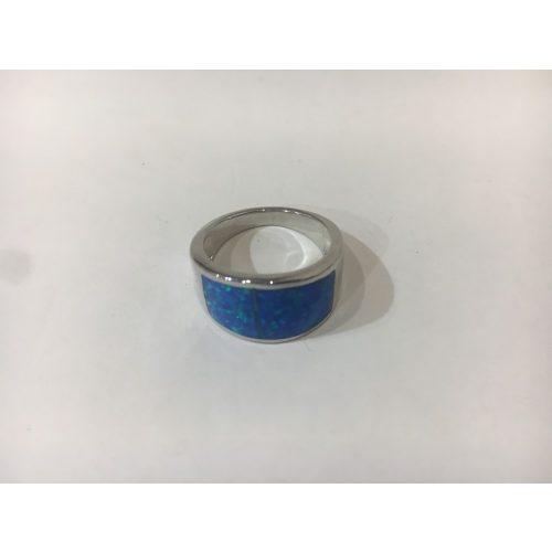 Opál köves ezüst gyűrű-Lilla
