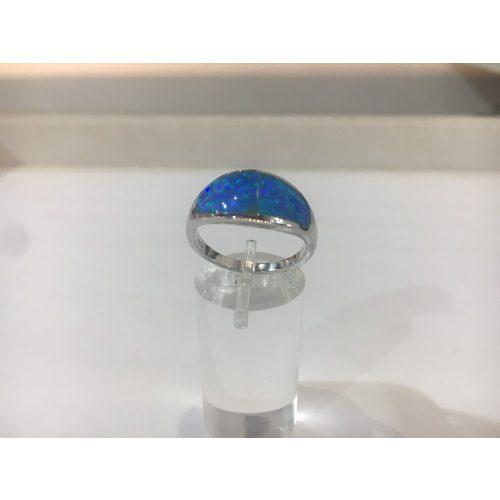 Opál köves ezüst gyűrű-Kati