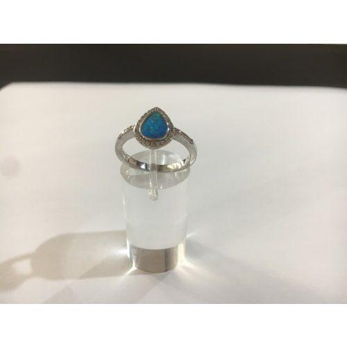 Opál köves ezüst gyűrű-Ramóna