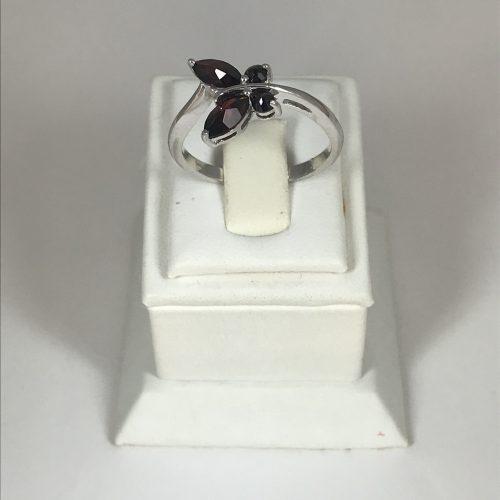 EZÜST Gyűrű Gránát – Női – 25