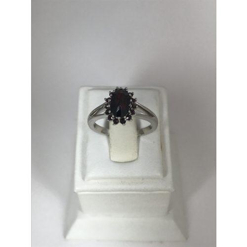 EZÜST Gyűrű Gránát – 5