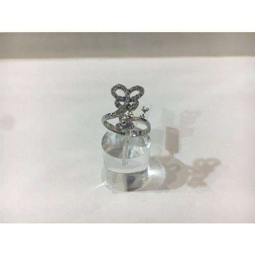 EZÜST-Gyűrű- Pillangó